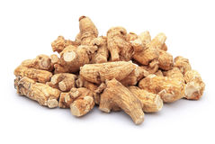 Ginseng stack up Royalty Free Stock Photo