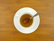 ginseng tabletop κουταλιών τσάι Στοκ Εικόνα
