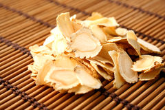 Ginseng tablets Stock Photo