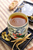 Ginseng Tea Royalty Free Stock Photography
