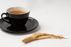 Ginseng Tea Chinese Medicine Herb Royalty Free Stock Photo