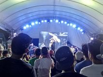 Ginuman费斯特, Cauayan,菲律宾 免版税库存图片