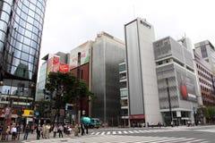 ginza日本 免版税库存照片