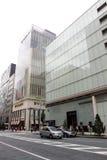 ginza日本 免版税图库摄影