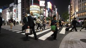 Ginza, токио сток-видео
