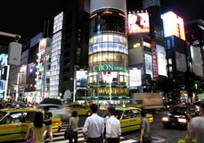 The Ginza area Stock Photo
