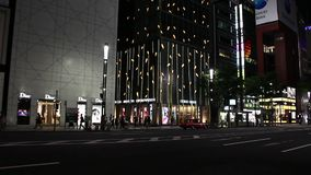 Ginza stock video footage