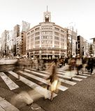 Ginza Crossing Stock Photography