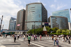 Ginza district Royalty Free Stock Image