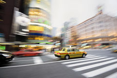Ginza District, Tokyo - Japan Royalty Free Stock Photography