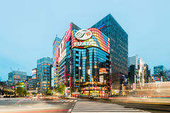Ginza District, Tokyo - Japan Royalty Free Stock Photo