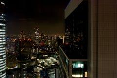 Ginza en la noche - Tokio Foto de archivo