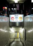Ginza metro station Stock Image
