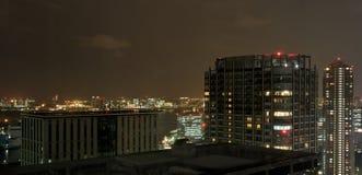 Ginza na noite - Tokyo Foto de Stock