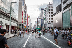 Ginza royalty free stock images