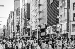 Ginza Royalty Free Stock Photography