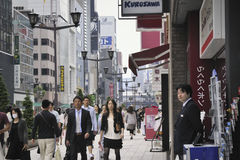 Ginza shopping Royalty Free Stock Photography