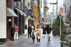 Ginza, Tokyo Royalty Free Stock Images