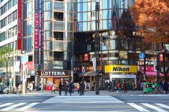 Ginza, Tokyo Stock Photography