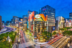 Ginza, Tokyo, Japon photographie stock