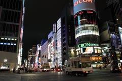 Ginza Yon-Chome crossing, Tokyo, Japan Royalty Free Stock Photography