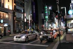 Ginza Yon-Chome crossing, Tokyo, Japan Stock Photography