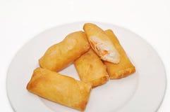 Gio de Cha ou rolo de mola fritado vietnamita imagem de stock royalty free