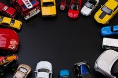 Gioca le automobili di modello Fotografie Stock Libere da Diritti