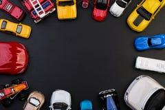 Gioca le automobili di modello Fotografie Stock