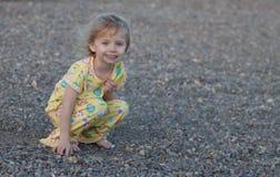 Giocando nelle rocce Fotografia Stock Libera da Diritti