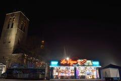 Giocando sullo sqare di Turnhout, Las Vegas Fotografia Stock Libera da Diritti