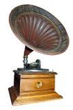 Giocatore antico del grammofono Immagine Stock Libera da Diritti