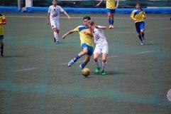 Giocatore dei giovani di calcio Immagine Stock