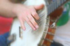 Giocatore del banjo Fotografie Stock Libere da Diritti