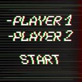 Giocatore del bit di vettore 8 Immagine Stock