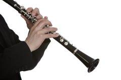 Giocatore del Clarinet immagini stock