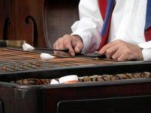 Giocatore del Cymbal Fotografia Stock