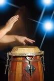 Giocatore del tamburo Immagini Stock Libere da Diritti