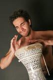 Giocatore del tamburo Fotografie Stock