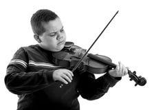 Giocatore del violino immagini stock