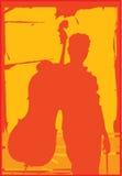 Giocatore del violoncello Fotografia Stock Libera da Diritti