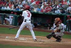 Giocatore dell'area outfield Michael A Taylor di Washington Nationals Fotografia Stock Libera da Diritti