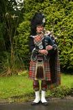 Giocatore della cornamusa Fotografia Stock Libera da Diritti