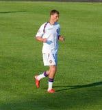 Giocatore della squadra nazionale russa Alexei Berezutski Fotografie Stock