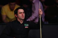 Giocatore dello snooker, Ronnie O'Sullivan immagine stock libera da diritti