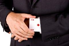 Giocatore di affari Fotografia Stock