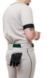 Giocatore di baseball Immagine Stock