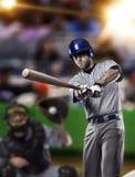 Giocatore di baseball Fotografie Stock
