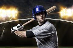 Giocatore di baseball Fotografia Stock