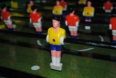 Giocatore di calcio-balilla Fotografia Stock